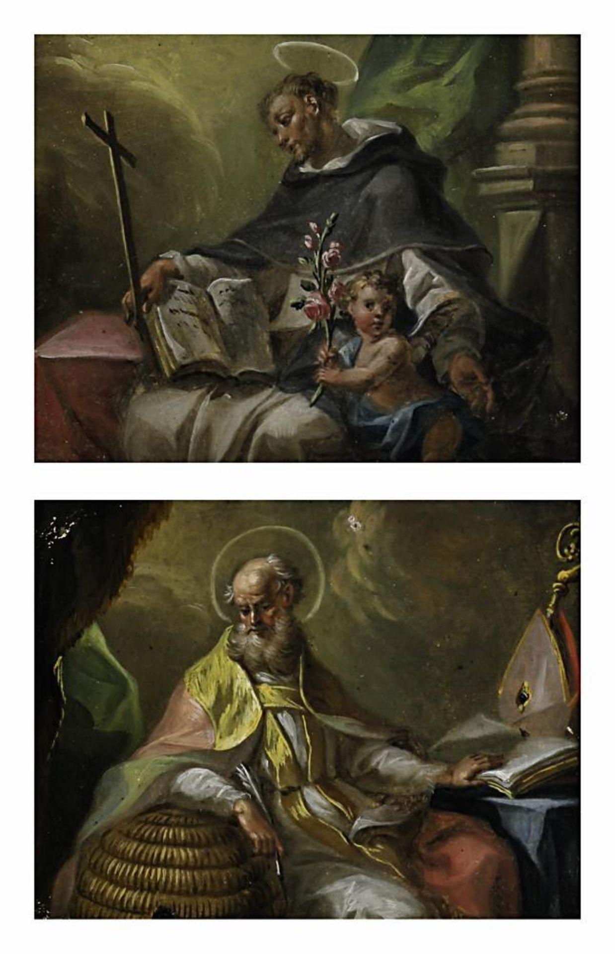 Hl. Ambrosius / Hl. Dominikus