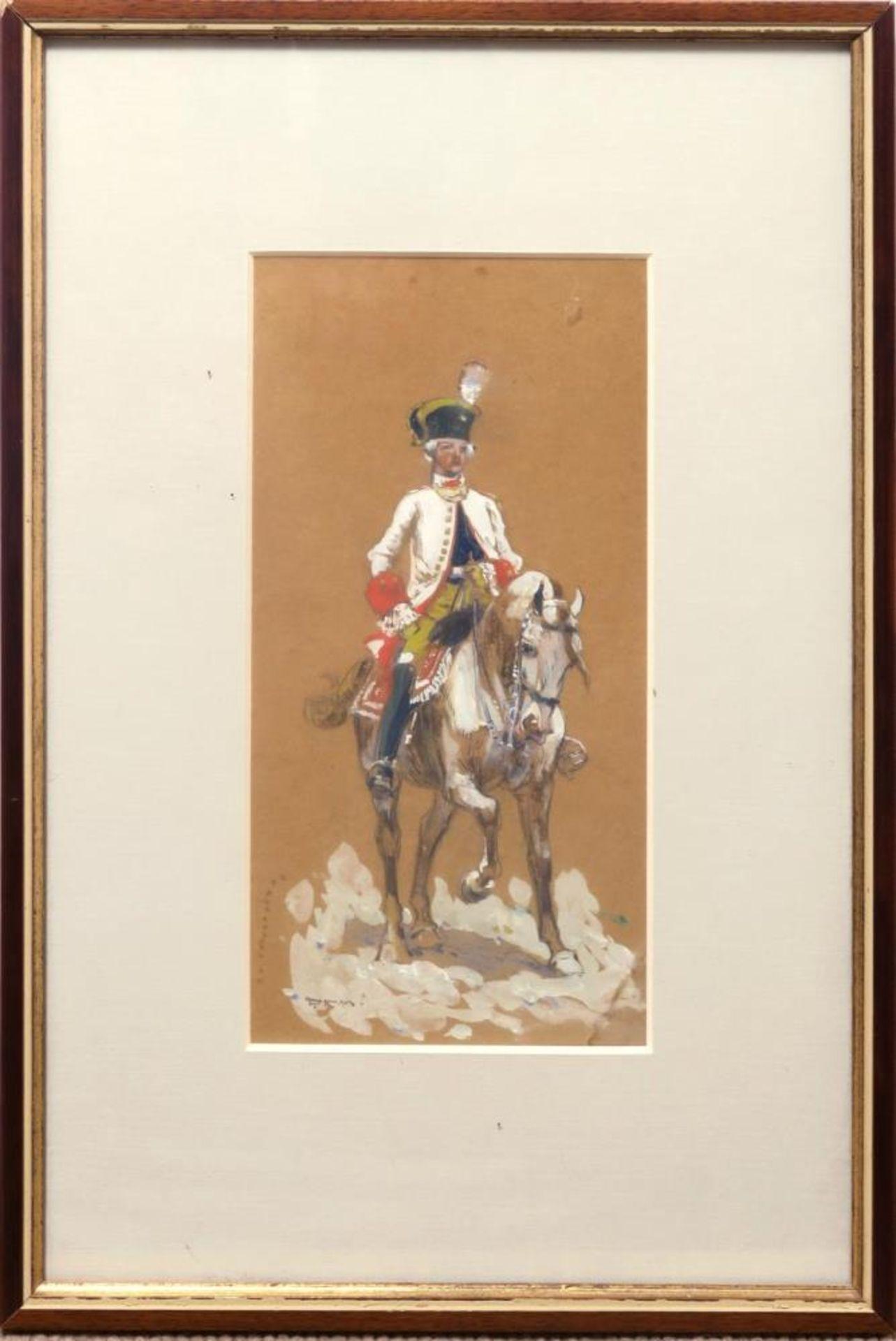Soldat zu Pferde - Bild 3 aus 3