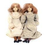 Zwei Puppen