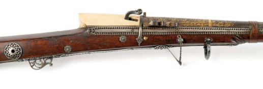 Seltenes Luntenschlossgewehr 17./18.