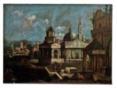 Capriccio mit Motiven aus Venedig