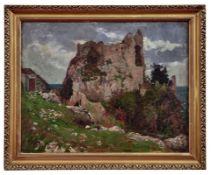 Ameseder, Eduard Blick auf die Ruine