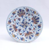 Runder Teller mit Imari-Dekor China,