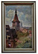 Kehr, Karl Blick über die Stadtmauer