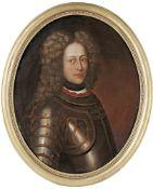 Ovales Bildnis eine jungen Edelmanns