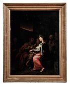 Maria und Elisabeth mit Jesus und
