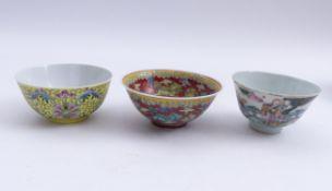 Drei Koppchen China, Qing-Dynastie -