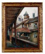 Ritter, Wilhelm Blick in den Innenhof