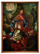Sieg des heiligen Athanasius über den