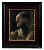 Bildnis eines Mönchs Italienische