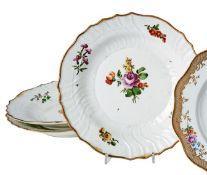 Drei Blumenteller Wien, E. 18.