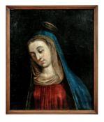 Antlitz der Maria in Andacht