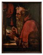 Der heilige Hieronymus beim Schreiben