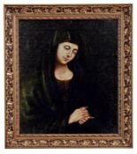 Maria in Andacht Italienischer Meister