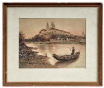 Brenner, Franz Blick über die Donau