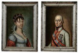 Portraitpendants des Kaisers Franz I.