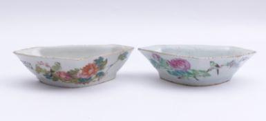 Zwei kleine Schalen China,