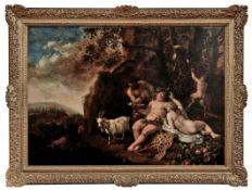 Bacchus und Ariadne Flämischer Meister