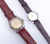 Zwei Damenarmbanduhren 1970er