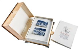 Kassette mit Architekturfotografien