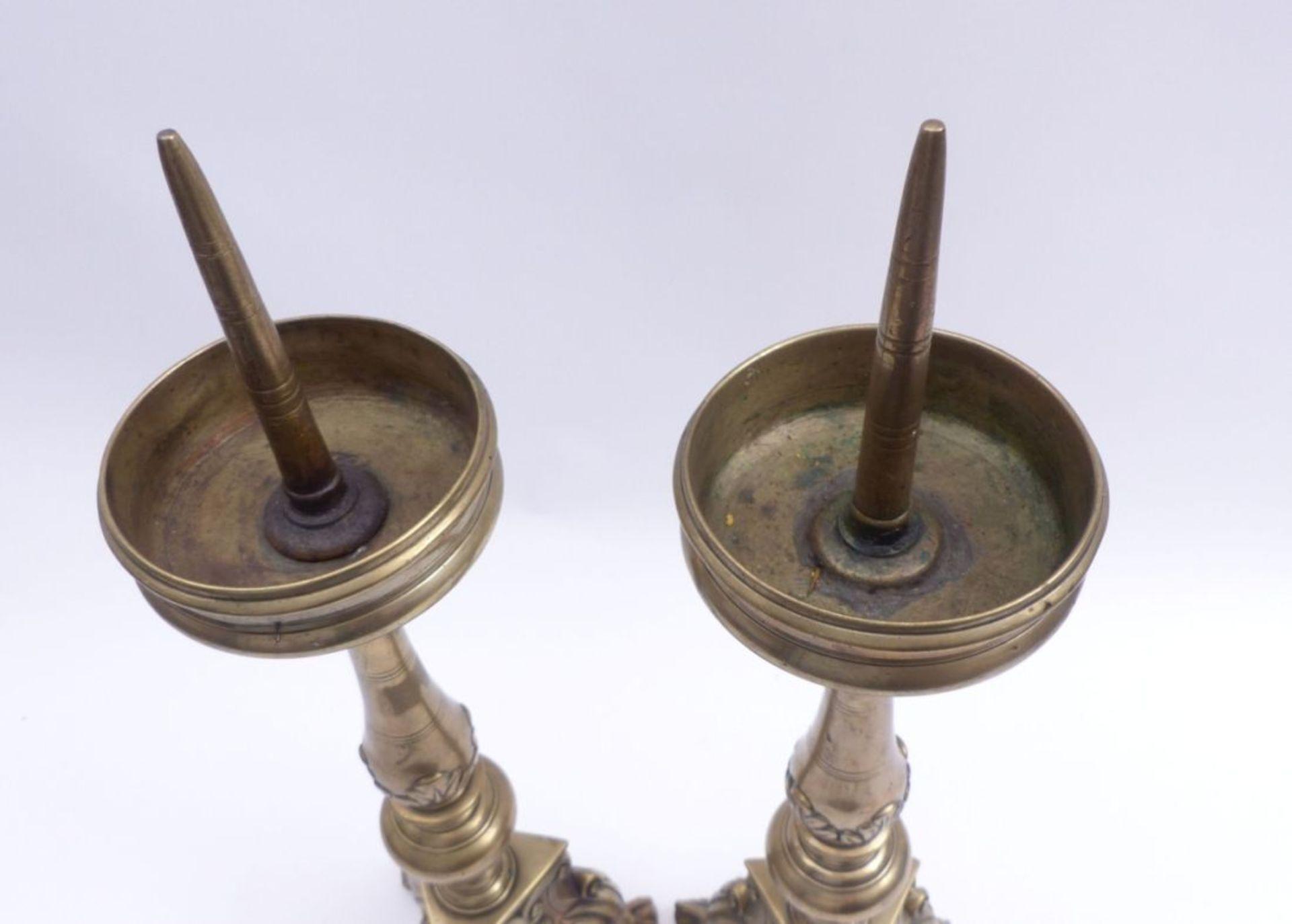 Paar Barockleuchter - Bild 4 aus 4