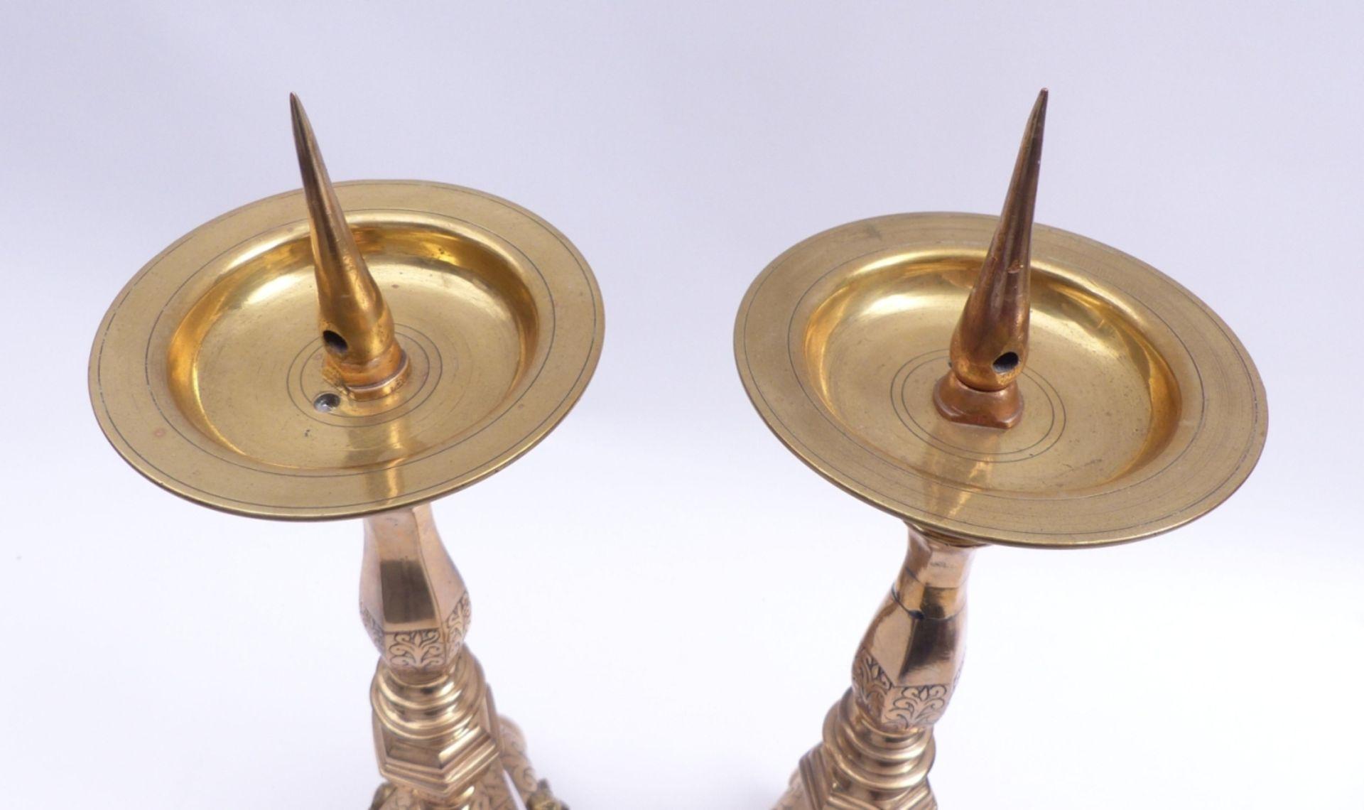 Paar Altarleuchter - Bild 4 aus 4