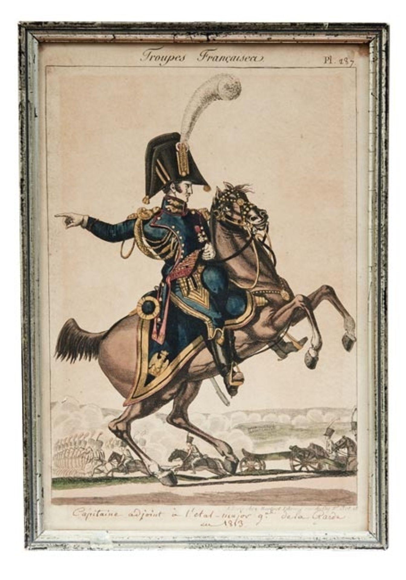 Fünf Uniformen der französischen Armee - Bild 5 aus 6