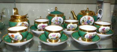Teeservice für sechs Personen