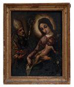 Madonna mit Kind und dem heiligen Nikolaus von Myra