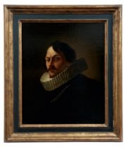 Bildnis eines Herren mit Mühlsteinkragen