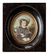 Miniaturportrait eines Kindes