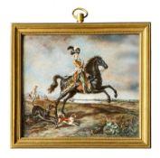 Marie Anoinette zu Pferd