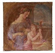 Venus stutzt Amor die Flügel