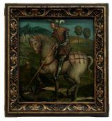 Der heilige Georg im Kampf mit dem Drachen