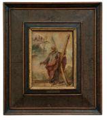 Der heilige Andreas mit Kreuz