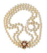 Perlen-Kropfband