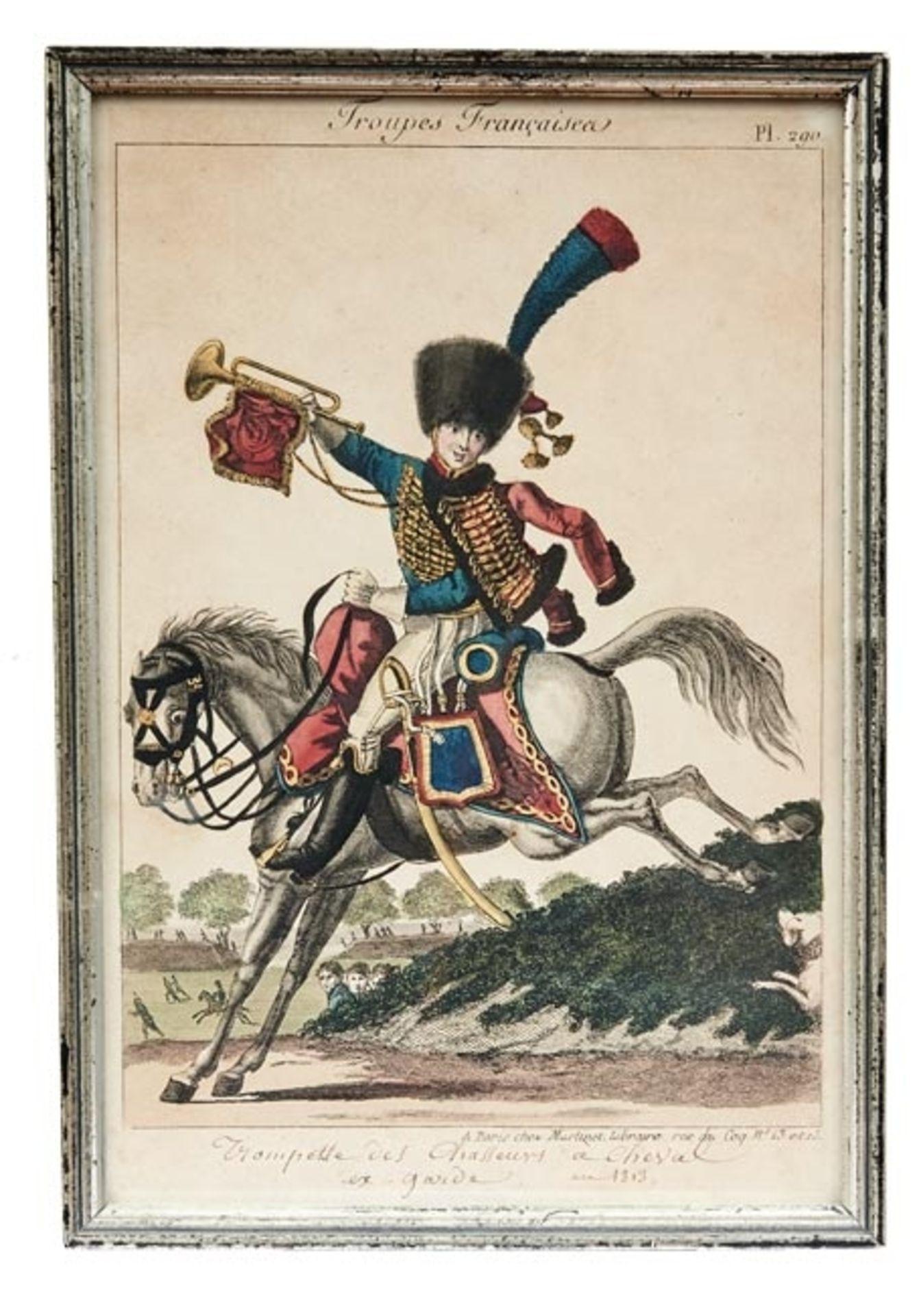 Fünf Uniformen der französischen Armee - Bild 4 aus 6