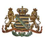 Wappen vom Herzogtum Sachsen-Coburg