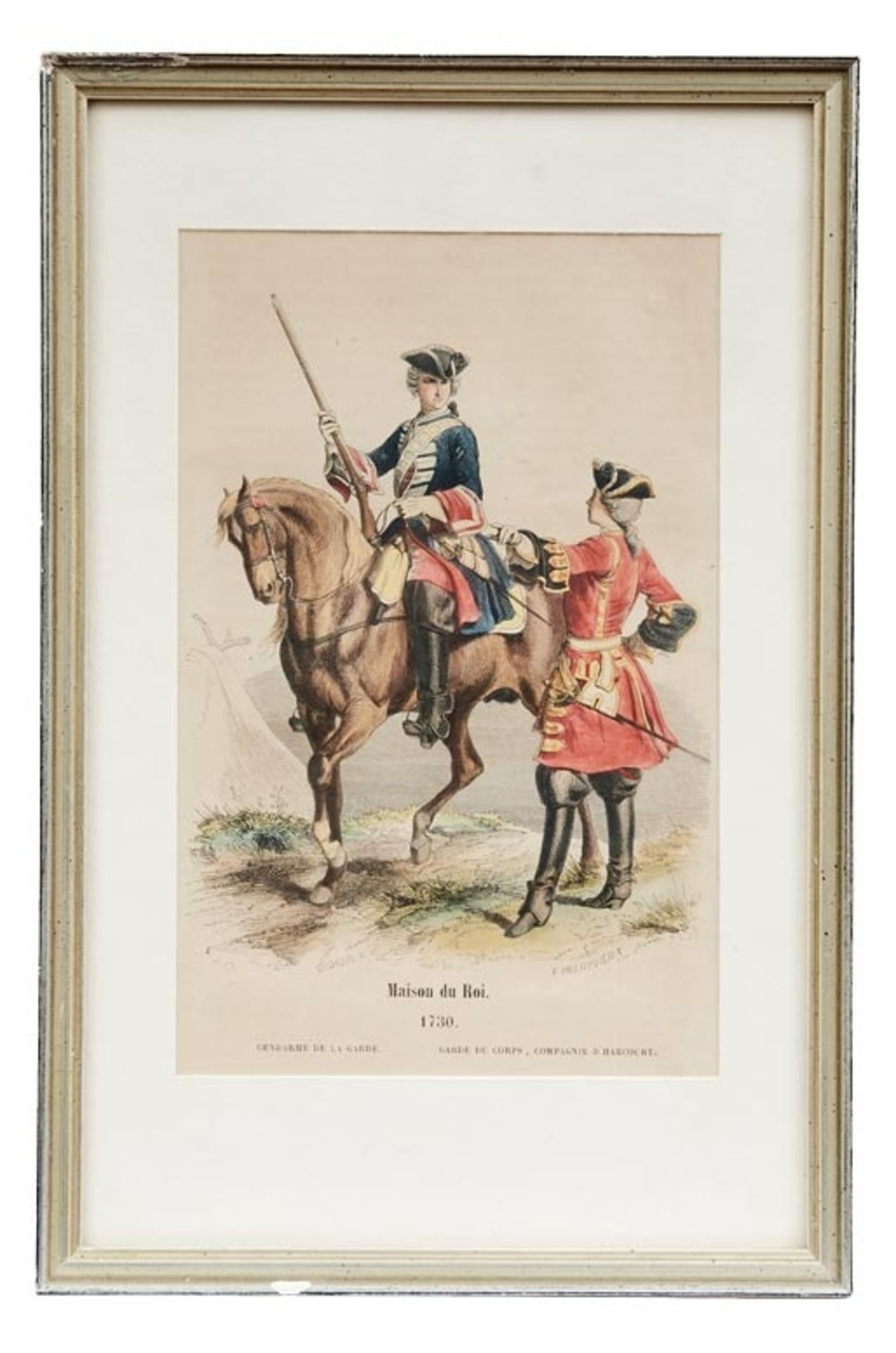 Fünf Uniformen der französischen Armee - Bild 2 aus 6