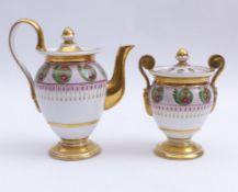 Teekännchen und Zuckerdose Fr. 19.