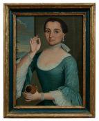 Bildnis einer Dame mit Schnupftabakdose