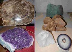 Kleine Mineraliensammlung