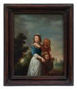 Judith und ihre Magd mit dem Haupt des Holofernes
