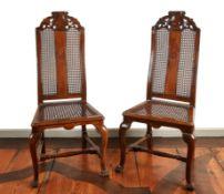 Zwei Barockstühle Braunschweig, um