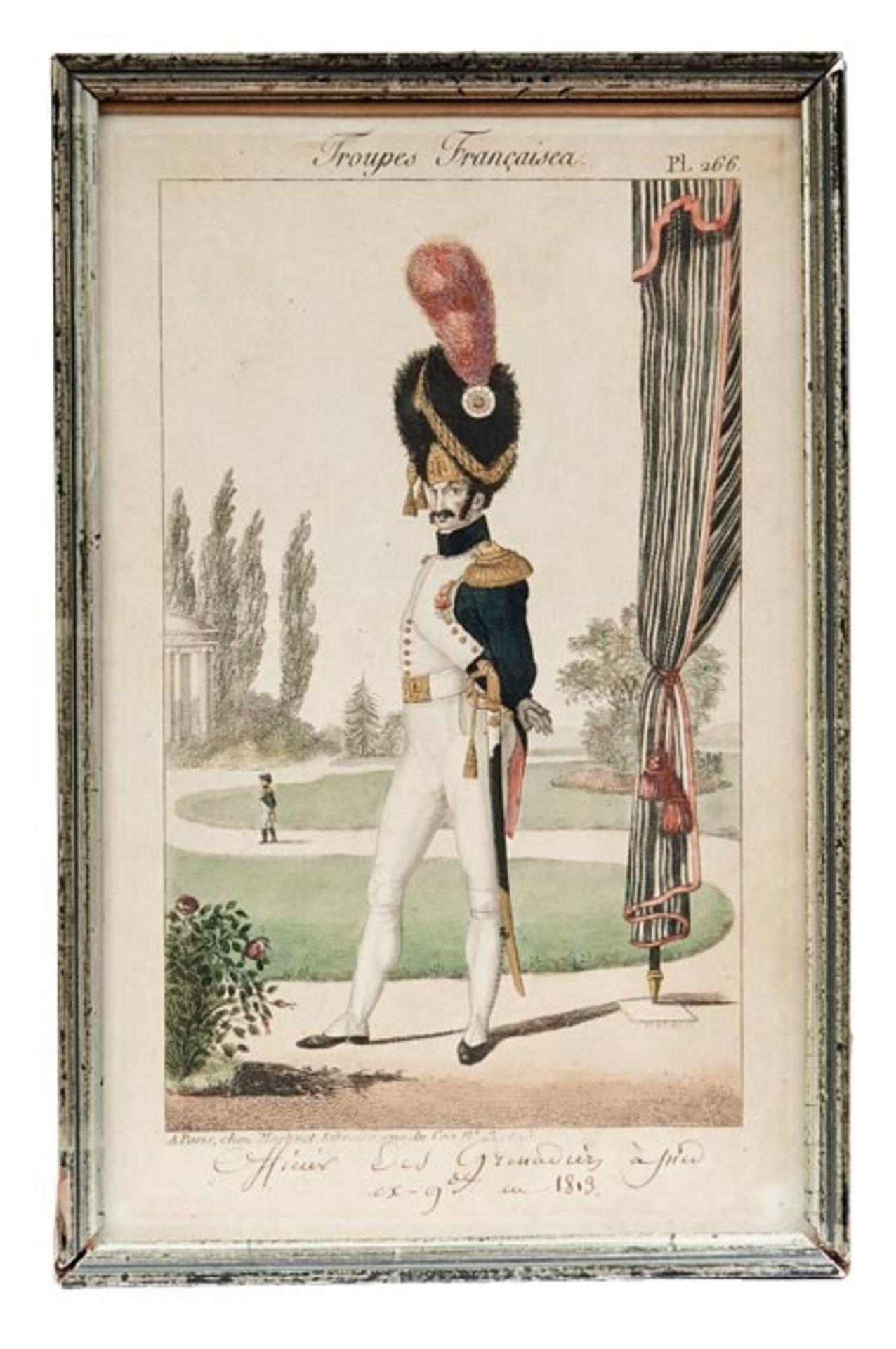 Fünf Uniformen der französischen Armee - Bild 3 aus 6