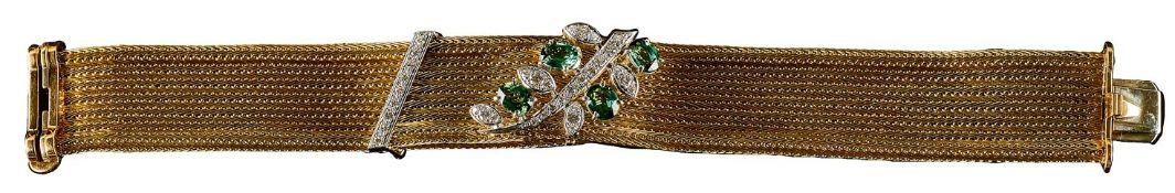 Brillant-Turmalin-Armband