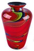 Große Vase Missoni für Arte Vetro,