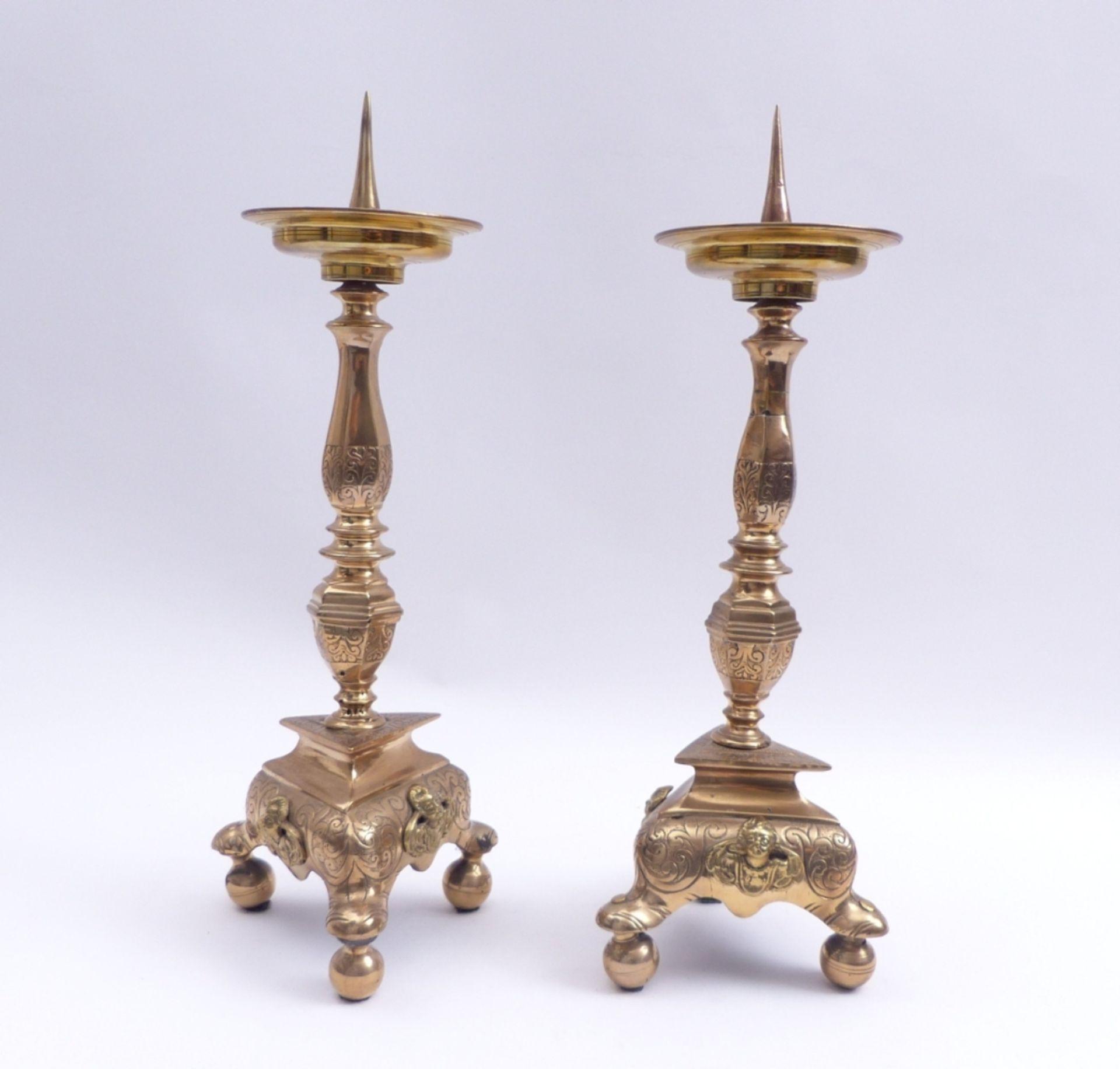 Paar Altarleuchter - Bild 3 aus 4