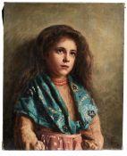 Bildnis eines südländischen Mädchens