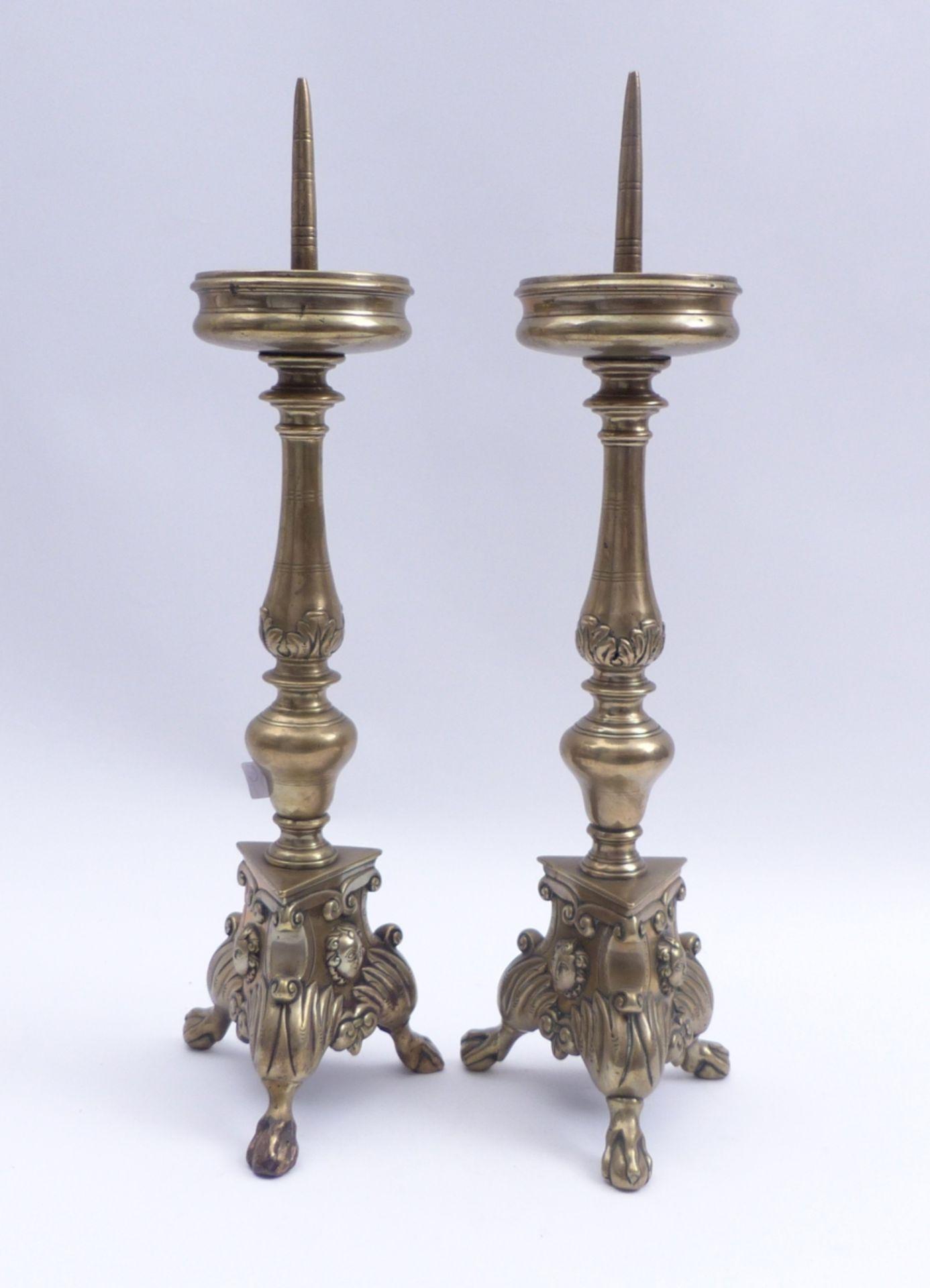 Paar Barockleuchter - Bild 2 aus 4